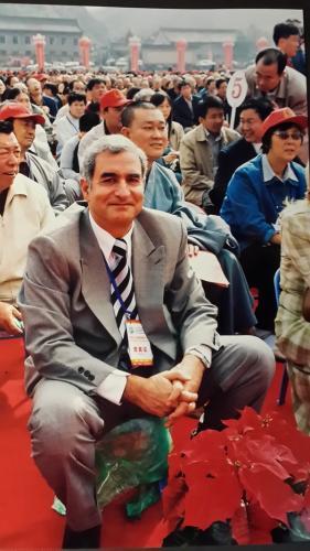 المشاركة في المؤتمر البوذي العالمي في الصين