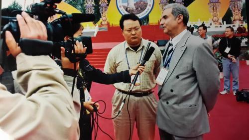 خلال المؤتمر البوذي
